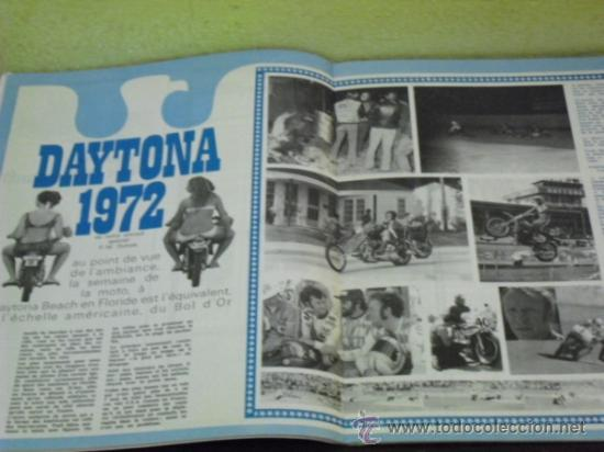 Coches y Motocicletas: MOTO REVUE Nº 2069 - PRUEBA YAMAHA 750 4T. - KAWA 350/S2 - DAYTONA 1972 - - Foto 5 - 38123486