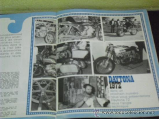 Coches y Motocicletas: MOTO REVUE Nº 2069 - PRUEBA YAMAHA 750 4T. - KAWA 350/S2 - DAYTONA 1972 - - Foto 6 - 38123486