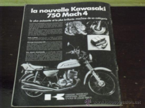 Coches y Motocicletas: MOTO REVUE Nº 2069 - PRUEBA YAMAHA 750 4T. - KAWA 350/S2 - DAYTONA 1972 - - Foto 11 - 38123486