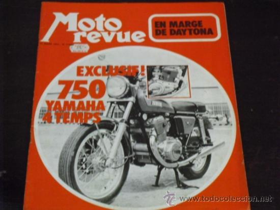MOTO REVUE Nº 2069 - PRUEBA YAMAHA 750 4T. - KAWA 350/S2 - DAYTONA 1972 - (Coches y Motocicletas - Revistas de Motos y Motocicletas)