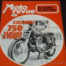 Coches y Motocicletas: MOTO REVUE Nº 2069 - PRUEBA YAMAHA 750 4T. - KAWA 350/S2 - DAYTONA 1972 -. Lote 38123486
