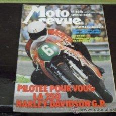 Coches y Motocicletas: MOTO REVUE N-º 2197 - AÑO 1974 - MODELOS KAWASAKI 1975 - PRUEBA MZ 250-H.DAVIDSON 250-. Lote 38319396