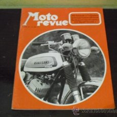 Coches y Motocicletas: MOTO REVUE Nº 2023- PRUEBA KAWASAKI 350 - KAWASAKI RICKMAN 500 -. Lote 38361561