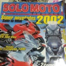 Coches y Motocicletas: REVISTA SOLO MOTO Nº224 OCTUBRE 2001. Lote 38427529