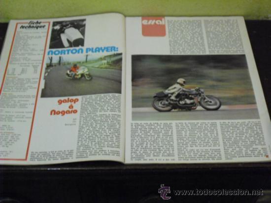 Coches y Motocicletas: MOTO REVUE Nº 2221 - AÑO 1975 - PRUEBA NORTON PLAYER - 6 DIAS ESCOCIA MC.ANDREWS- GP ITALIA - - Foto 4 - 38481215