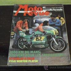 Coches y Motocicletas: MOTO REVUE Nº 2221 - AÑO 1975 - PRUEBA NORTON PLAYER - 6 DIAS ESCOCIA MC.ANDREWS- GP ITALIA -. Lote 38481215