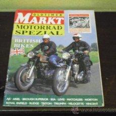Coches y Motocicletas: MARKT - MOTORRAD SPEZIAL - BRITISH BIKES -. Lote 38481287