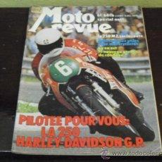 Coches y Motocicletas: MOTO REVUE Nº 2197 - 1974 - PRUEBA MZ 250 EN CARRETERA - KAWASAKI GAMA 75 -. Lote 38758506