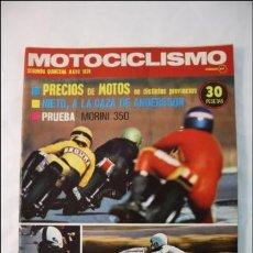 Coches y Motocicletas: REVISTA MOTOCICLISMO - 2ª QUINCENA MAYO 1975 - MORINI 350, GP AUSTRIA. Lote 38764908