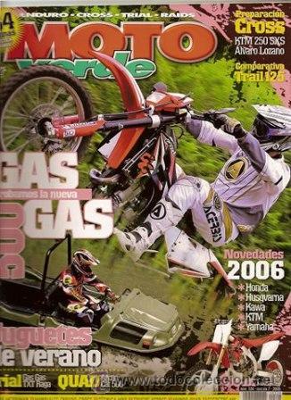 MOTO VERDE Nº 324 AÑO 2005 EDICION 7 (Coches y Motocicletas - Revistas de Motos y Motocicletas)