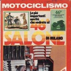 Coches y Motocicletas: REVISTA MOTOCICLISMO ITALIANO Nº 11 AÑO 1979. PRUEBA: BMW R 100. BMW RT 1000. HONDA 125 ENDURACE. CO. Lote 38785635