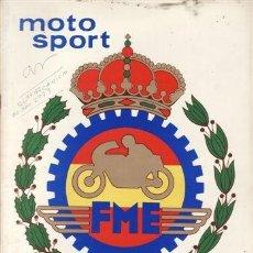 Coches y Motocicletas: REVISTA MOTO SPORT Nº 105 AÑO 1979.. Lote 38811537