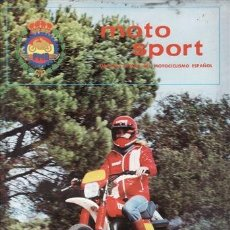Coches y Motocicletas: REVISTA MOTO SPORT Nº 103 AÑO 1979. . Lote 38811595