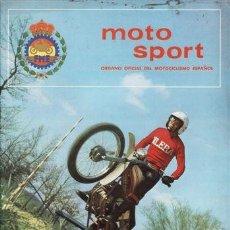 Coches y Motocicletas: REVISTA MOTO SPORT Nº 123 AÑO 1981. . Lote 38811754