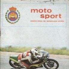 Coches y Motocicletas: REVISTA MOTO SPORT Nº 124 AÑO 1981. . Lote 38811954