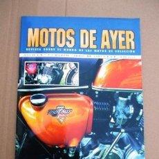 Coches y Motocicletas: REVISTA MOTOS DE AYER Nº 7. Lote 126888555