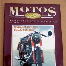 Coches y Motocicletas: REVISTA MOTOS DE AYER Nº 29. Lote 92821480