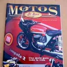 Coches y Motocicletas: REVISTA MOTOS DE AYER Nº 44. Lote 47619534