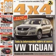 Coches y Motocicletas: REVISTA AUTO BILD 4X4 Nº 5 AÑO 2007. PRUEBA. NISSAN QASAHAI DCI 4X4. VOLVO XC 90 D5 SPORT. HONDA LEG. Lote 38986977