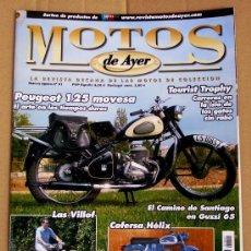 Coches y Motocicletas: REVISTA MOTOS DE AYER Nº 91. Lote 38999089
