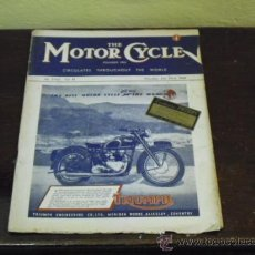 Coches y Motocicletas: THE MOTOR CYCLE Nº 2363 - JULY 1948 - ARIEL SQUARE FOUR 997 C.C. -. Lote 39009847