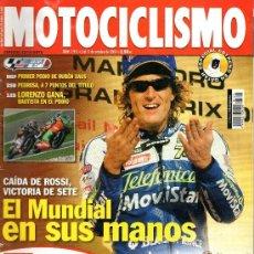 Coches y Motocicletas: REVISTA MOTOCICLISMO Nº1911 . Lote 39034140