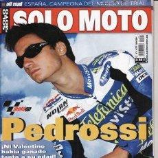 Coches y Motocicletas: REVISTA SOLO MOTO ACTUAL Nº 1477 AÑO 2004. PRUEBA: SUZUKI GSX R 1000. . Lote 39047478
