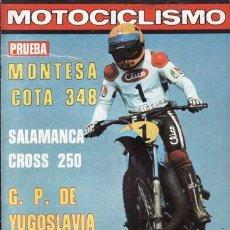Coches y Motocicletas: REVISTA MOTOCICLISMO Nº 577 AÑO 1978. PRUEBA: MONTESA COTA 348. . Lote 39055856