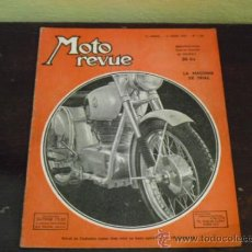 Coches y Motocicletas: MOTO REVUE Nº 1.128 - AÑO 1953 - LA MOTO DE TRIAL- MICROCOCHES MOTOR MOTO - MOTOS PEUGEOT -. Lote 39153807