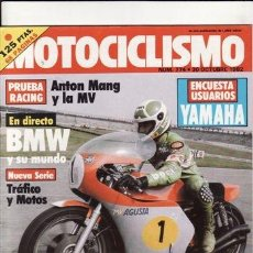 Coches y Motocicletas: REVISTA MOTOCICLISMO Nº 774 AÑO 1982. PRUEBA: BENELLI N900 SEI. . Lote 23731037