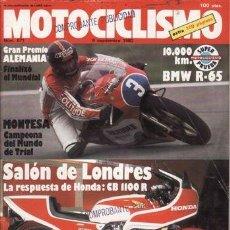 Coches y Motocicletas: REVISTA MOTOCICLISMO Nº 671 AÑO 1980. PRUEBA: MONTESA COTA 123. BMW R 65. . Lote 39165858