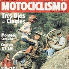 Coches y Motocicletas: REVISTA MOTOCICLISMO Nº 677 AÑO 1980. PRUEBA: MONTESA COTA 248. CAGIVA SST 350. ZUNDAPP KS 175. GAMA. Lote 39166064