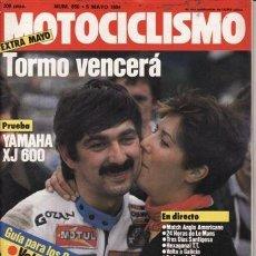 Coches y Motocicletas: REVISTA MOTOCICLISMO Nº 850 AÑO 1984. PRUEBA: YAMAHA XJ 600.. Lote 184798451