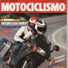 Coches y Motocicletas: REVISTA MOTOCICLISMO Nº 1045 AÑO 1988. PRUEBA: SUZUKI GSX 1100 F. YAMAHA TZR 125.. Lote 181951612
