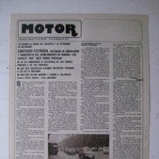 Coches y Motocicletas: MOTOR - SUPLEMENTO ESPECIAL DE AS COLOR MOTOS Y COCHES - AÑO 1977 - 15 NOVIEMBRE. Lote 39312620