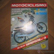 Coches y Motocicletas: REVISTA MOTOCICLISMO 6 DE JUNIO 1979 Nº 613 CON