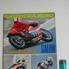 Coches y Motocicletas: REVISTA MOTOCICLISMO PRIMERA QUINCENA MAYO 1975.. Lote 39382976