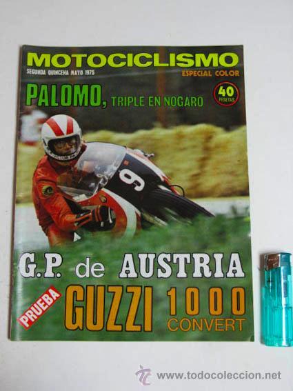 REVISTA MOTOCICLISMO SEGUNDA QUINCENA MAYO 1975. (Coches y Motocicletas - Revistas de Motos y Motocicletas)