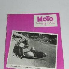 Coches y Motocicletas: RARA REVISTA ESPAÑOLA MOTO SPORT , Nº 19 - OCTUBRE 1953 - 40 PAG - MIDE 27 X 21 CMS.. Lote 39414858