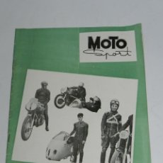 Coches y Motocicletas: RARA REVISTA ESPAÑOLA MOTO SPORT , Nº 44 - NOVIEMBRE 1955 - 40 PAG - MIDE 27 X 21 CMS.. Lote 39415028