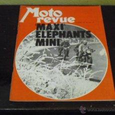 Coches y Motocicletas: MOTO REVUE Nº 2059 AÑO 1972 - SALON DE LONDRES - PRUEBA LINTO GP 500 -. Lote 39619443