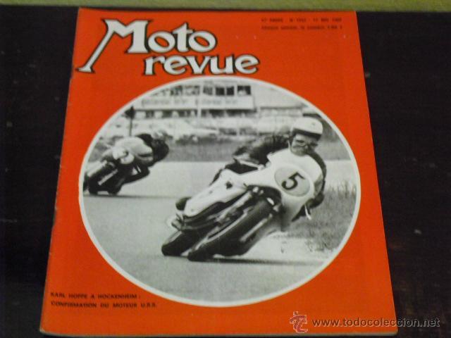 MOTO REVUE Nº 1932 AÑO 1969 - PRUEBA MAICO 125 G.S. - GRAN PREMIO ALEMANIA - (Coches y Motocicletas - Revistas de Motos y Motocicletas)