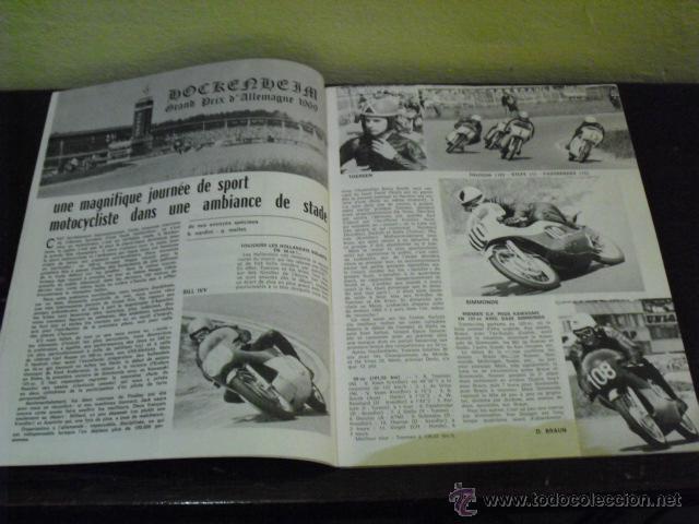 Coches y Motocicletas: MOTO REVUE Nº 1932 AÑO 1969 - PRUEBA MAICO 125 G.S. - GRAN PREMIO ALEMANIA - - Foto 3 - 39619908