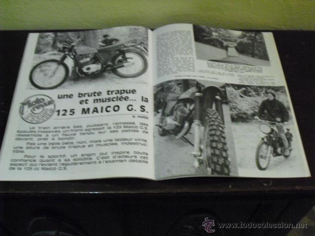 Coches y Motocicletas: MOTO REVUE Nº 1932 AÑO 1969 - PRUEBA MAICO 125 G.S. - GRAN PREMIO ALEMANIA - - Foto 4 - 39619908
