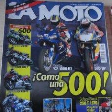 Coches y Motocicletas: REVISTA LA MOTO NUMERO 97 MAYO 1998 KAWA BULTACO SHERPA HONDA YAMAHA SUZUKI. Lote 39712590