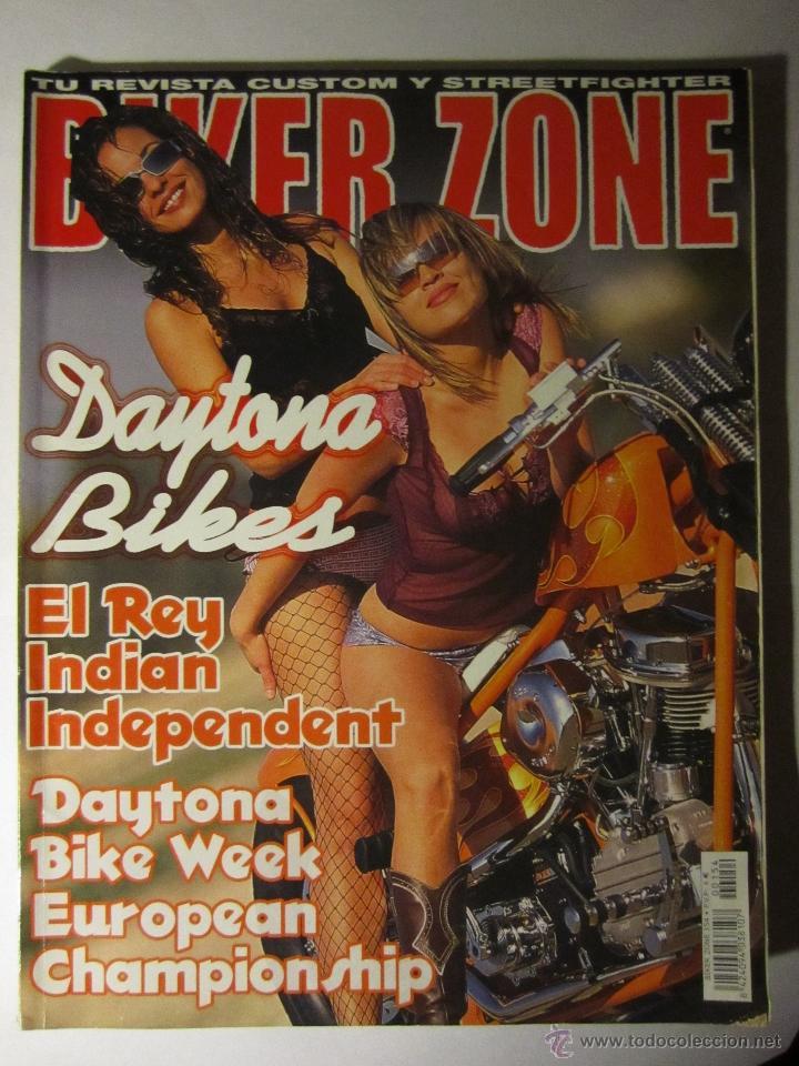 REVISTA BIKER ZONE Nº154 AÑO 2006 HARLEY CUSTOM CHOPPER (Coches y Motocicletas - Revistas de Motos y Motocicletas)