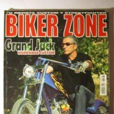 Coches y Motocicletas: REVISTA BIKER ZONE Nº147 AÑO 2005 HARLEY CUSTOM CHOPPER. Lote 39772451