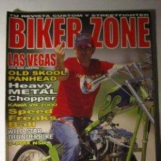 Coches y Motocicletas: REVISTA BIKER ZONE Nº132 AÑO 2004 HARLEY CUSTOM CHOPPER. Lote 39772462