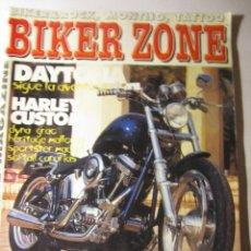 Coches y Motocicletas: REVISTA BIKER ZONE Nº83 AÑO 2000 HARLEY CUSTOM CHOPPER. Lote 39772509