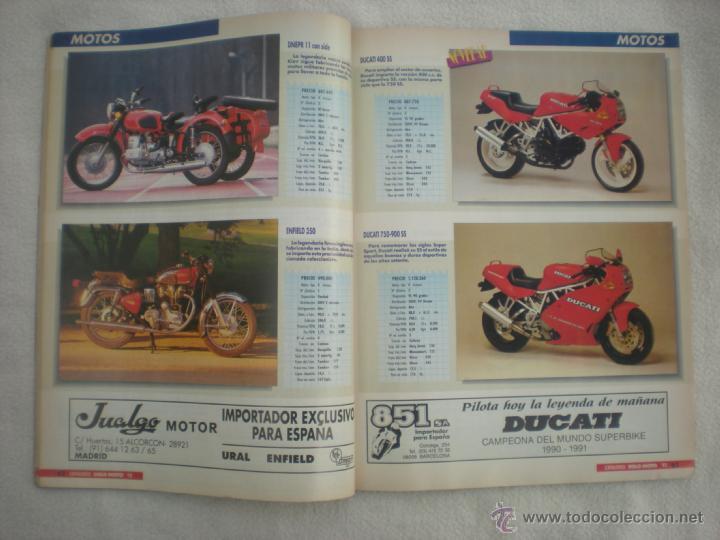 SOLO MOTO_Nº 6_CATALOGO 92_350 MODELOS_EJEMPLAR FUERA DE SERIE_AÑO 1992 (Coches y Motocicletas - Revistas de Motos y Motocicletas)